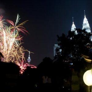 Fin de año en Kuala Lumpur