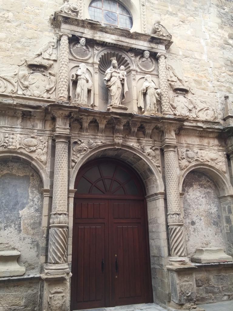 Iglesia del Carmen en Jaca
