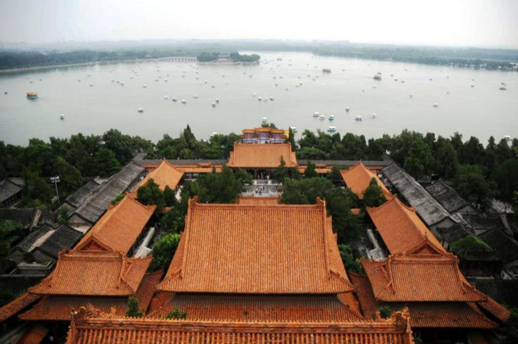 Torre de la fragancia, palacio de verano pekin