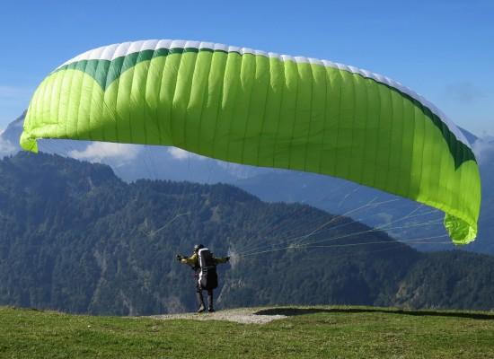 Volar en Parapente en Ezcaray