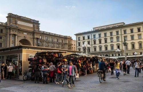 Mercados de Florencia