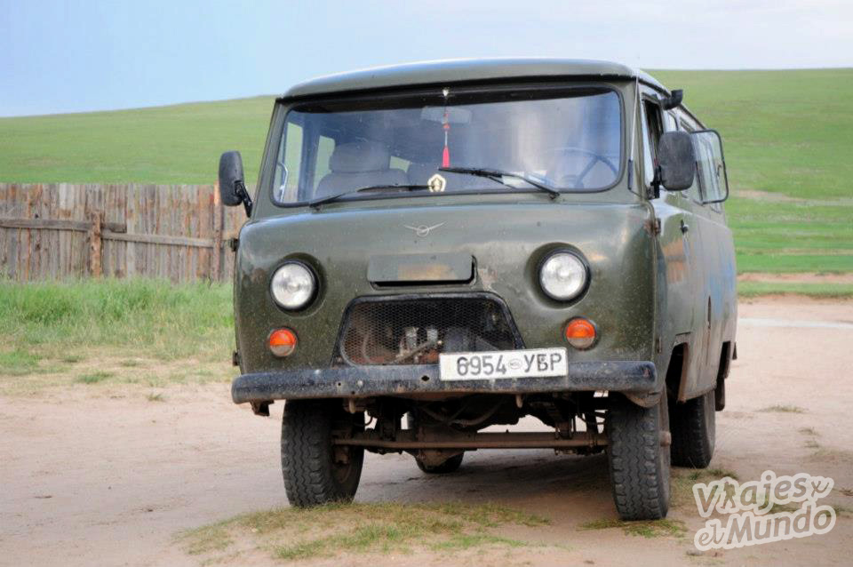 furgoneta rusa mongolia