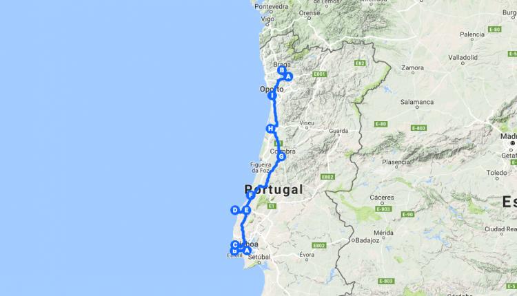 Road trip por Portugal